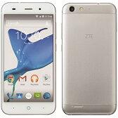 【送料無料】 ZTE ZTE Blade V6 シルバー「BLADEV6/SILVER」 Android 5.0・5型・メモリ/ストレージ:2GB/16GB microSIMx1 nanoSIMx1 SIMフリースマートフォン