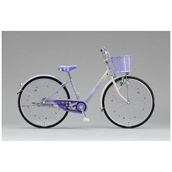【送料無料】 ブリヂストン 24型 子供用自転車 エコパル(ラベンダー/シングルシフト) EP405【2016年モデル】 【代金引換配送不可】
