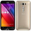 【あす楽対象】【送料無料】 ASUS ZenFone 2 Laser ゴールド「ZE500KL-GD16」 Android 5.0・5型・メモリ/ストレージ:2...