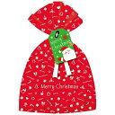 ドットコム 【文房具】クリスマスラッピング袋