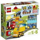 """レゴジャパン LEGO(レゴ) 10816 デュプロ はじめてのデュプロ(R)""""くるまとトラック""""の画像"""