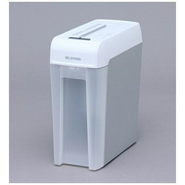 【送料無料】 アイリスオーヤマ IRIS OHYAMA マイクロカットシュレッダー (A4サイズ/CD・DVD・カードカット対応) KP6HMCS(ホワイト/グレー)