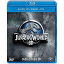 【送料無料】 NBCユニバーサル ジュラシック・ワールド3D ブルーレイ&DVDセット(ボーナスDVD付) 【ブルーレイ ソフト】