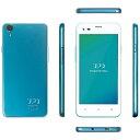 【あす楽対象】【送料無料】 UPQ [LTE対応]SIMフリー Android 5.1スマートフォン「UPQ Phone A01X ホワイトBG」 4.5型(ROM 16GB・RAM 1GB) QASP001WBX