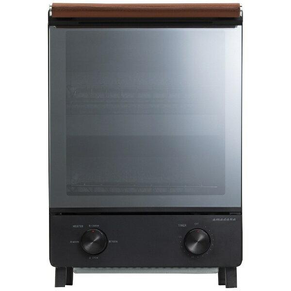 【送料無料】 アマダナ amadana タテ型オーブントースター (1000W) ATT-T11-K ブラック