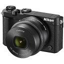 【送料無料】 ニコン Nikon 1 J5【標準パワーズームレンズキット】(ブラック)/ミラーレス一眼カメラ[J5HPLKBK]