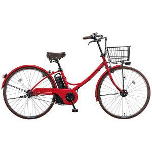 【送料無料】 パナソニック 26型 電動アシスト自転車 グリッター・A(ロイヤルレッド/内装3段変速) BE-ELGL63R【2016年モデル】【組立商品につき返品不可】 【代金引換配送不可】