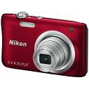 【送料無料】 ニコン コンパクトデジタルカメラ COOLPIX(クールピクス) A100(レッド)