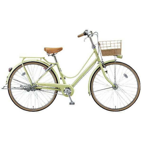 【送料無料】 ブリヂストン 26型 自転車 カジュナ スイートライン DXモデル(E.Xクリームイエロー/3段変速) CS6TP6【2016年モデル】【組立商品につき返品】 【配送】
