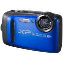 【送料無料】 フジフイルム コンパクトデジタルカメラ FinePix(ファインピクス) XP90(ブルー)