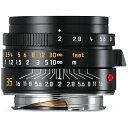 【送料無料】 ライカ 交換レンズ ズミクロン M f2/35mm ASPH.【ライカMマウント】(ブラック)