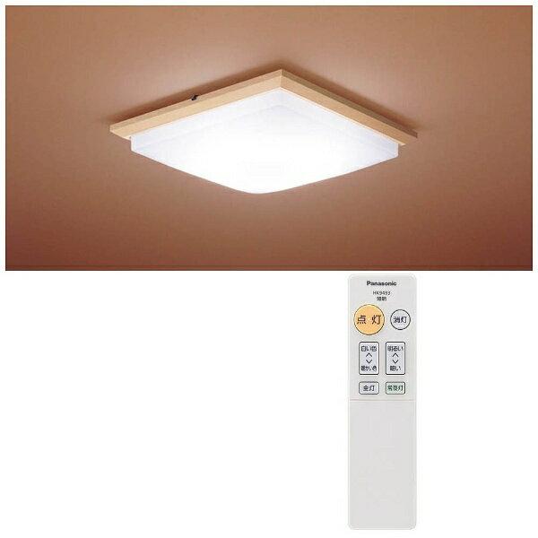 【送料無料】 パナソニック リモコン付和風LEDシーリングライト (〜6畳) HH-CA0650A 調光・調色(昼光色〜電球色)[HHCA0650A]