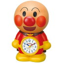 【送料無料】 リズム時計 目覚まし時計 「アンパンマンめざましとけい」 4SE552M06