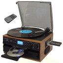【送料無料】 ピーアイエフ レコード/CD/ラジオ&カセット搭載多機能プレーヤー RTC-2