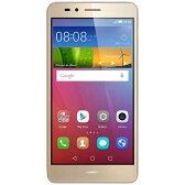 【送料無料】 HUAWEI HUAWEI GR5 ゴールド「KII-L22-GOLD」 Android 5.1.1・5.5型・メモリ/ストレージ:2GB/16GB microSIMx1 SIMフリースマートフォン