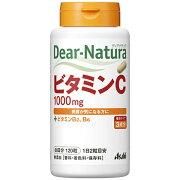 アサヒグループ食品 Dear-Natura(ディアナチュラ) ビタミンC 60日分(120粒)〔栄養補助食品〕
