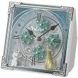 【送料無料】 リズム時計 からくり時計 「アナと雪の女王」 4RH784MA03
