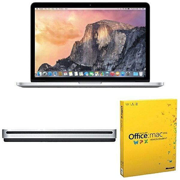 【送料無料】 ビックカメラ.com 【新生活応援セット】【アップル MacBookPro 13インチ Retina Disp...