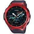 【送料無料】 カシオ スマートウォッチ 「Smart Outdoor Watch」(レッド) WSD-F10RD