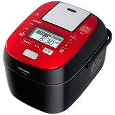 【送料無料】 パナソニック 可変圧力スチームIHジャー炊飯器 「Wおどり炊き」(5.5合) SR-SPX106-RK ルージュブラック[SRSPX106]