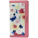 エムディーシー iPhone 6s/6用 riendaケース フラワーフレア ノートタイプ ピンク IP6-71290