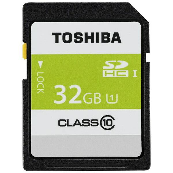 東芝 32GB・UHS Speed Class1(Class10)対応SDHCカード SDAR40N32G