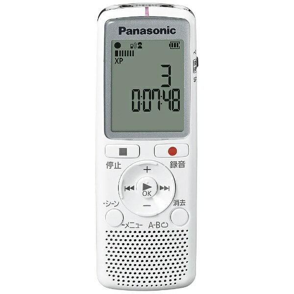 パナソニック Panasonic ICレコーダー【2GB】(ホワイト) RR-QR220 W[RRQR220W] panasonic