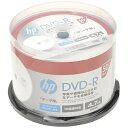 HP ヒューレット パッカード 1〜16倍速対応 データ用DVD-Rメディア (4.7GB 50枚) DR47CHPW50PA