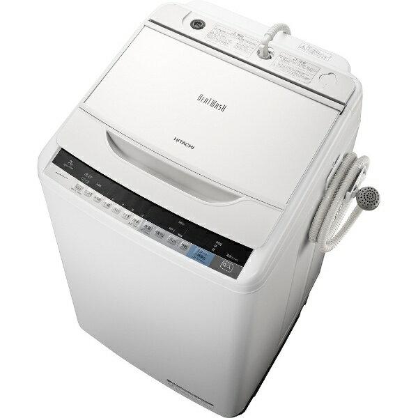 【標準設置費込み】 日立 全自動洗濯機 (洗濯7.0kg)「ビートウォッシュ」 BW-V70A-W ホワイト[BWV70A]