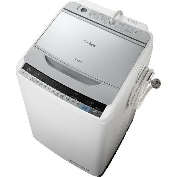 【標準設置費込み】 日立 全自動洗濯機 (洗濯9.0kg)「ビートウォッシュ」 BW-V90A-S シルバー[BWV90A]