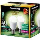 パナソニック LED電球 「LED電球プレミア」(小形電球形[全方向タイプ]・全光束440lm/昼白色相当・口金E17/2個入) LDA4N-G-E17/Z40...