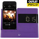 KITSOUND 【アウトレット品】 iPod/iPhone用 Dockスピーカー KSXDOCK2PUOUT 【生産完了品】KSXDOCK2PU【kk9n0d18p】