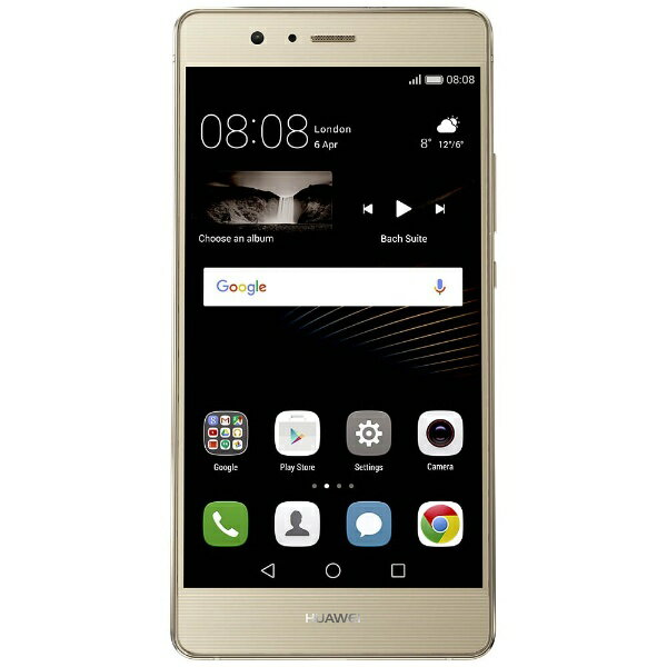 【送料無料】 HUAWEI P9Liteゴールド 「VNS-L22-GOLD」 Android 6.0・5.2型・メモリ/ストレージ...