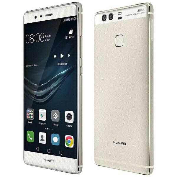 HUAWEI P9シルバー 「EVA-L09-SILVER」 Android 6.0・5.2型・メモリ/ストレージ:3GB/32GB NanoSIM×1 SIMフリースマートフォン
