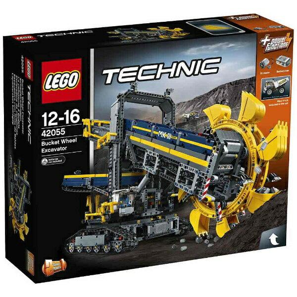 【あす楽対象】【送料無料】 レゴジャパン LEGO(レゴ) 42055 テクニック バケット掘削機 【代金引換配送不可】