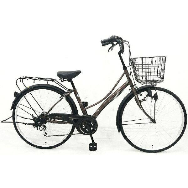 【送料無料】 サイモト自転車 26型 自転車 リアージュファッション ファミリー(ブラウン/外装6段変速) 266RAJBR【2016年モデル】【組立商品につき返品】 【配送】【メーカー直送・・時間指定・返品】