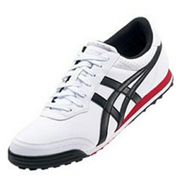 【送料無料】 アシックス ユニセックス スパイクレスゴルフシューズ GEL-PRESHOT CLASSIC 2(25.5cm/ホワイト×ブラック) TGN915 0190