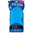 ナカバヤシ PlayStation Vita用薄型セミハードケース ブルー【PSV(PCH-1000/2000)】
