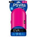 ナカバヤシ PlayStation Vita用薄型セミハードケース ピンク【PSV(PCH-1000/2000)】