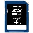 IOデータ 4GB・Class10対応SDHCカード SDH-T4G
