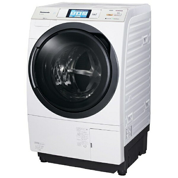 【標準設置費込み】 パナソニック 【アウトレット品】[左開き] ドラム式洗濯乾燥機 (洗濯10.0kg/乾燥6.0kg) NA-VX9600L-W クリスタルホワイト 【洗濯槽自動お掃除・ヒートポンプ乾燥機能付】【生産完了品】NAVX9600L 【kk9n0d18p】