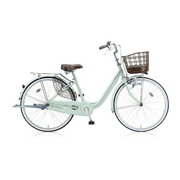 【送料無料】 ブリヂストン BRIDGESTONE 26型 自転車 アルミーユ(P.Xオパールミント/シングルシフト) AU606【2016年モデル】【組立商品につき返品】 【配送】