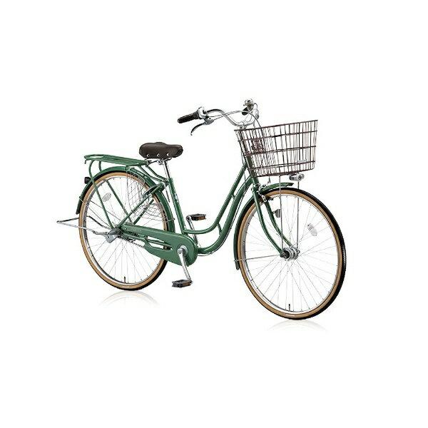 【送料無料】 ブリヂストン BRIDGESTONE 26型 自転車 エブリッジC(E.Xフィールドグリーン/シングルシフト) EBC60T【2016年/点灯虫モデル】【組立商品につき返品】 【配送】