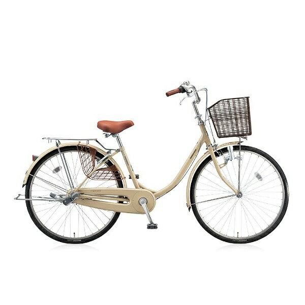 【送料無料】 ブリヂストン BRIDGESTONE 24型 自転車 エブリッジU(E.Xカフェベージュ/内装3段変速) EBU43【2016年モデル】【組立商品につき返品】 【配送】