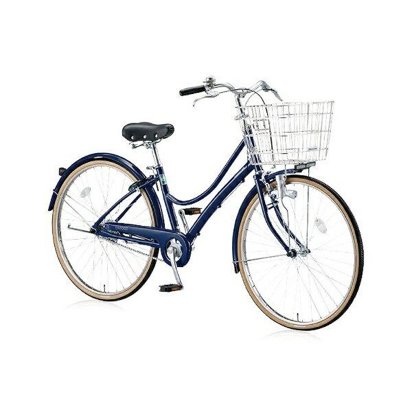 【送料無料】 ブリヂストン BRIDGESTONE 26型 自転車 エブリッジL(E.Xノーブルネイビー/シングルシフト) EBL60【2016年モデル】【組立商品につき返品】 【配送】