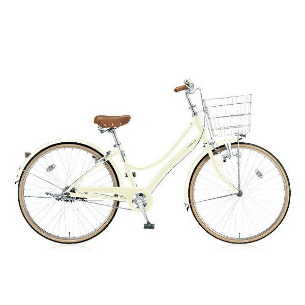 【送料無料】 ブリヂストン BRIDGESTONE 27型 自転車 エブリッジL(E.Xクリームアイボリー/シングルシフト) EBL70【2016年モデル】【組立商品につき返品】 【配送】