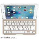 【送料無料】 BELKIN iPad mini 4用 QODE Ultimate Liteキーボードケース ホワイト/ゴールド F5L191QEWGW