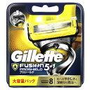 ジレット 【Gillette(ジレット)】フュージョン 5+1 プロシールド 替刃8個入