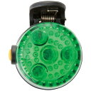 アスカ 2WAY LED安全ライト グリーン SL02G