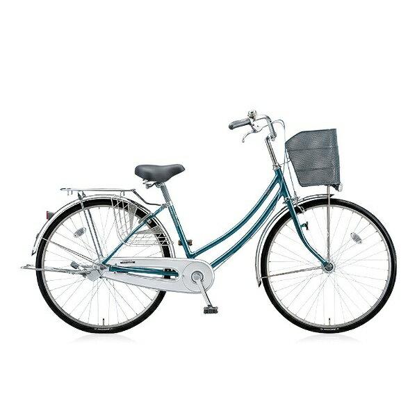【送料無料】 ブリヂストン 27型 自転車 シティーノW(E.Xグリーンアッシュ/内装3段変速) CTW73T【2016年/点灯虫モデル】 【代金引換配送不可】